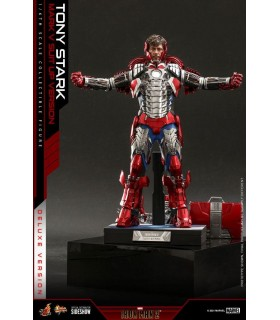 IRON MAN MARK V SUIT UP DELUXE