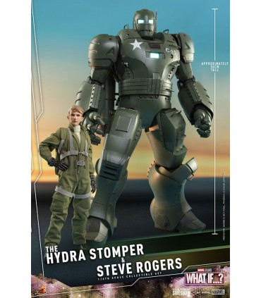 MARVEL WHAT IF...? THE HYDRA STOMPER Y STEVE ROGERS